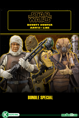 STAR WARS BOUNTY HUNTERS COMPLETE SET