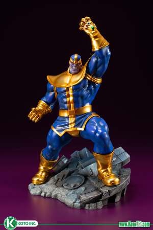 MARVEL COMICS AVENGERS SERIES THANOS ARTFX+ STATUE