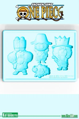 ONE PIECE USOPP, FRANKY, & BROOK NEW WORLD VER. SILICONE ICE TRAY