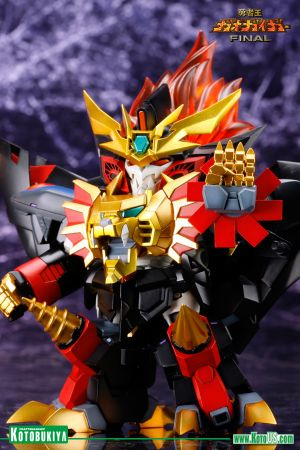 BRAVE KING GAOGAIGAR FINAL GENESIC GAOGAIGAR D-STYLE PLASTIC MODEL KIT