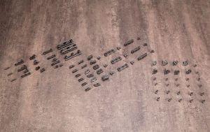 MSG 01 FLEXIBLE ARMS SET GUNMETAL VER. MODEL KIT