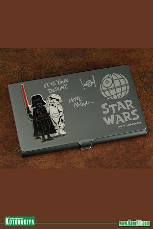 STAR WARS DARTH VADER AND STORMTROOPER BUSINESS CARD HOLDER