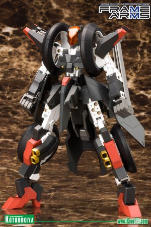 FRAME ARMS RF-12 WILBER NINE PLASTIC MODEL KIT