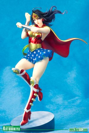 DC ARMORED WONDER WOMAN BISHOUJO STATUE 2nd Edition