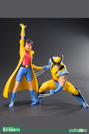 MARVEL UNIVERSE X-MEN '92 WOLVERINE & JUBILEE TWO PACK ARTFX+ STATUE