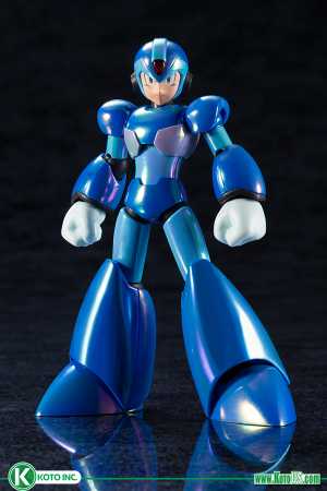 MEGA MAN X -  X PREMIUM CHARGE SHOT VERSION MODEL KIT