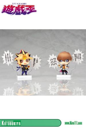 YU-GI-OH! YAMIYU-GI & KAIBA ONE COIN MINI FIGURES