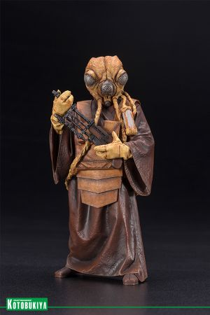 STAR WARS BOUNTY HUNTER ZUCKUSS ARTFX+