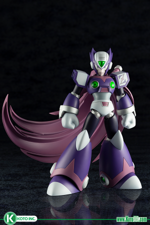 MEGA MAN X ZERO NIGHTMARE VERSION PLASTIC MODEL KIT