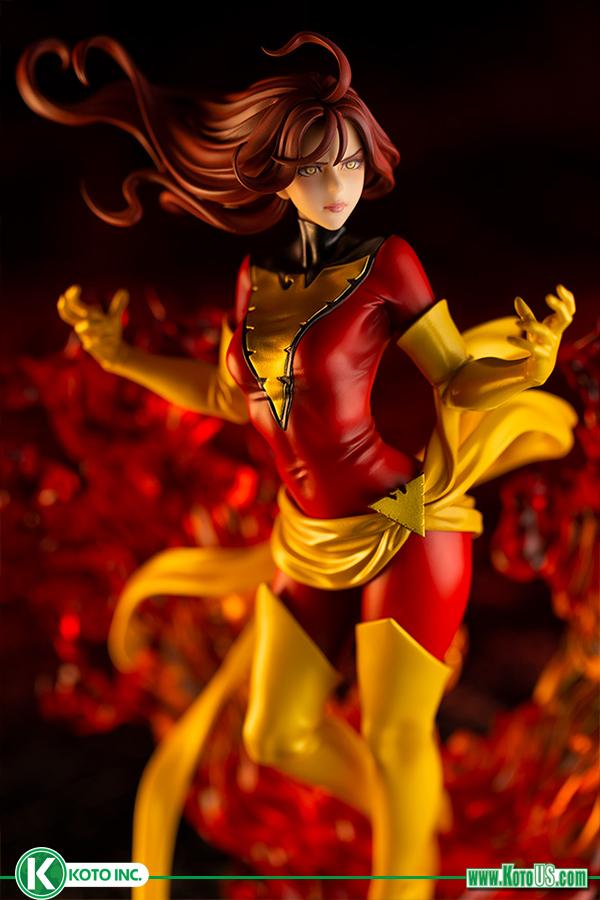 Kotobukiya Marvel Dark Phoenix Rebirth Bishoujo Statue